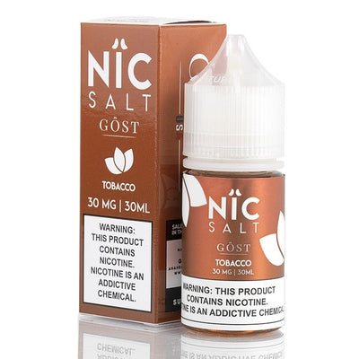 NiC Salt -GOST Vapor (Tobacco) 30ml