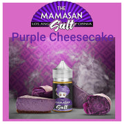 MAMASAN SALT NICOTINE- PURPLE CHEESECAKE 30ML