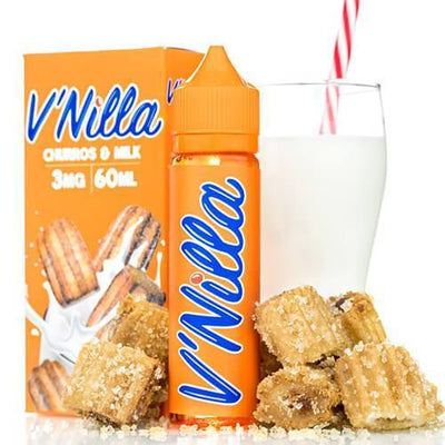 Tinted Brew-V'Nilla Churros & Milk E-liquid  (60mL)