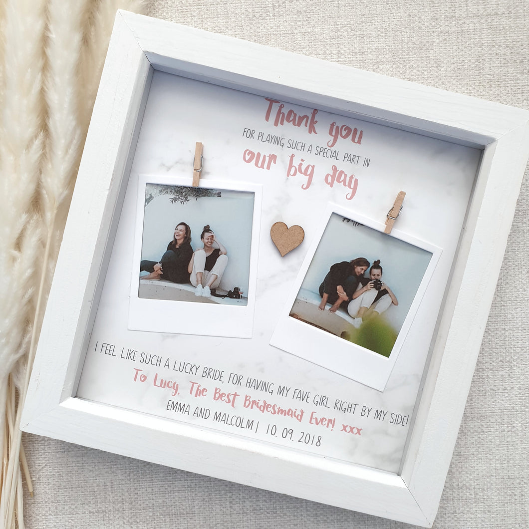 Bridesmaid Photo Frame | Bridesmaid Thank You Gift