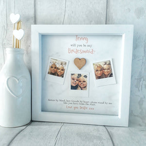 Bridesmaid Proposal Gift | Bridesmaid Frame