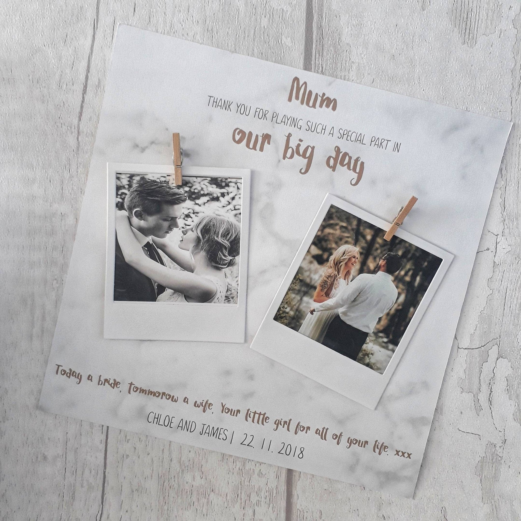 Mother of the Groom Frame | Mother of the Groom Gift – My Button Heart