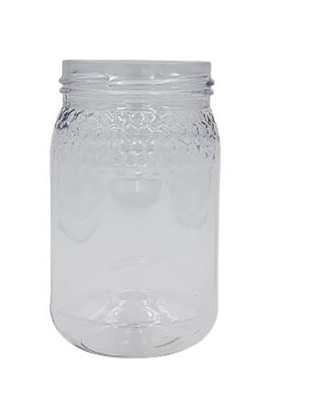 POT 385 ML TO 63 ALVEOLES CRISTAL ROND