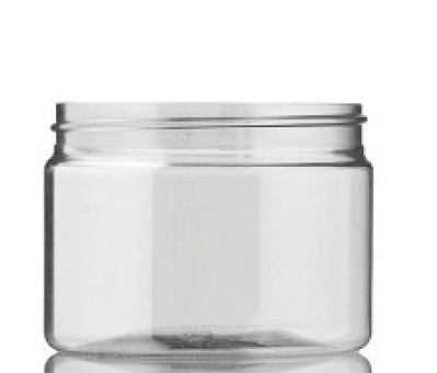 POT 200 ML 70 SP400 CLEAR STRAIGHT ROND