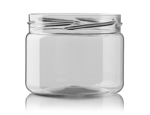 POT 250 ML 82RTS CLEAR GEL JAR CYLINDRIQUE