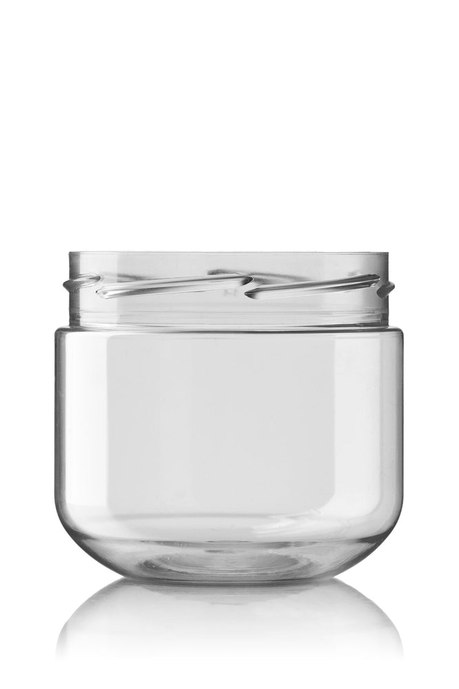 POT 300 ML 82 RTS CLEAR JAR