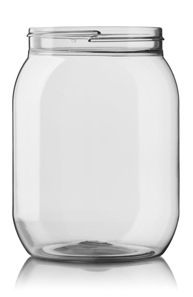 POT 1500 ML 100 SP400 CLEAR ROND