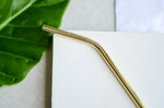 Gold Drinking Straws