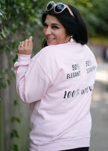 Load image into Gallery viewer, Epifania Women Are (Pink Crewneck Sweater)