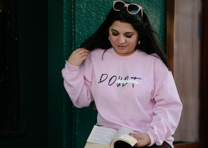 Epifania Do/Doubt (Pink Crewneck Sweater)