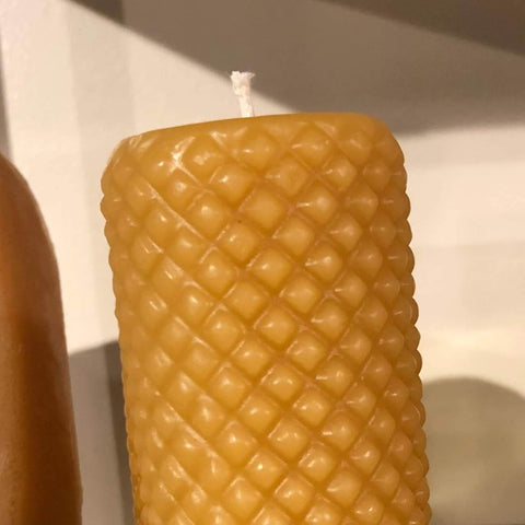 Beeswax Candles - Handmade