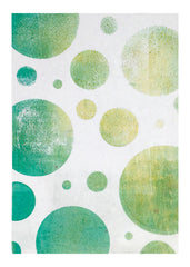 NEW Circle Stencil - Designed to print with 5x7 Gelli Arts® printing plate