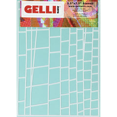 Ladder Stencil - Designed to print with 5x7 Gelli Arts® printing plate