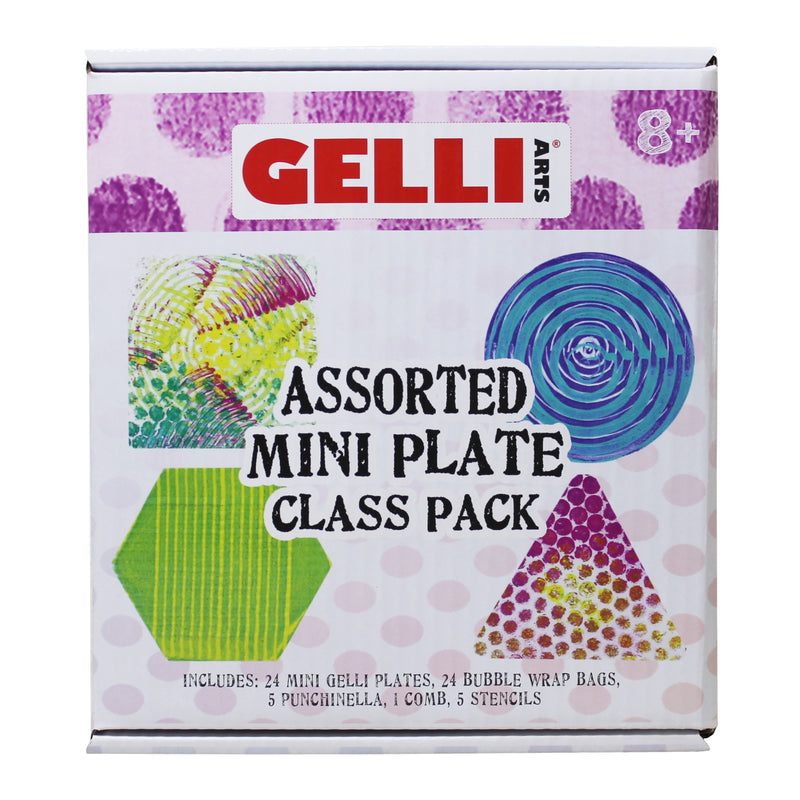 New!!  Mini Plate Class Pack - Contains 10 Hexagon Shaped Mini Plates & Accessories