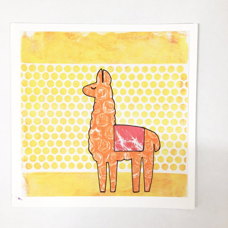 New!! Gel Animals Card Kit