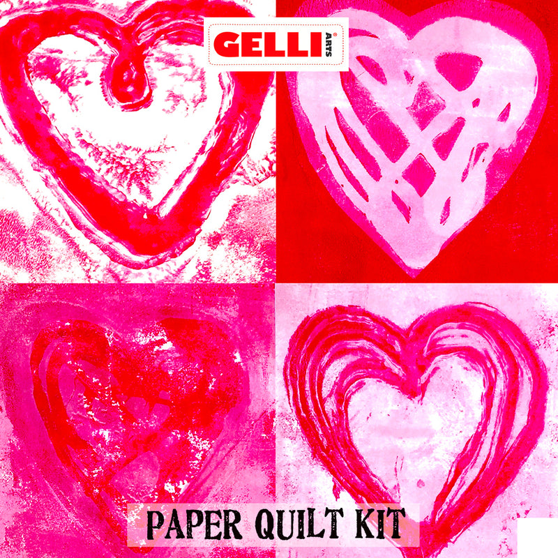 NEW!! Gelli Arts® Paper Quilt Kit