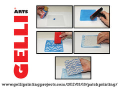 NEW!! Gelli Arts® Patch Printing Kit