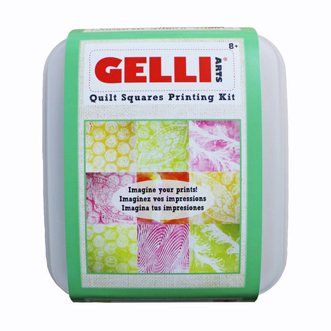 NEW!! Gelli Arts® Quilt Squares Kit