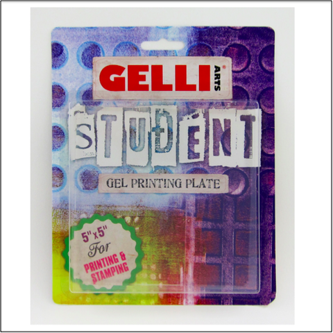"Student Plate 5"" x 5"" - 24/Case"