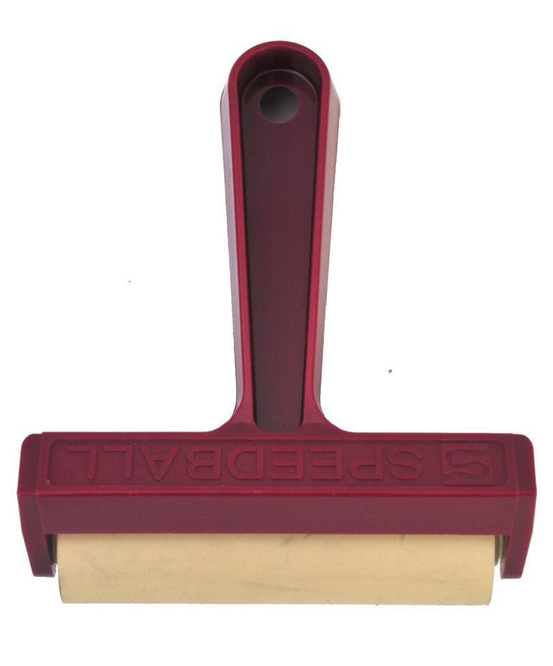 "4"" Pop-In Soft Rubber Brayer"