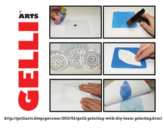 NEW!! Gelli Arts® Stamping & Printing Kit