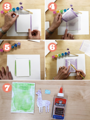 Gel Animals Card Kit