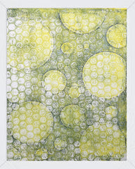 NEW Circle Stencil - Designed to print with 8x10 Gelli Arts® printing plate