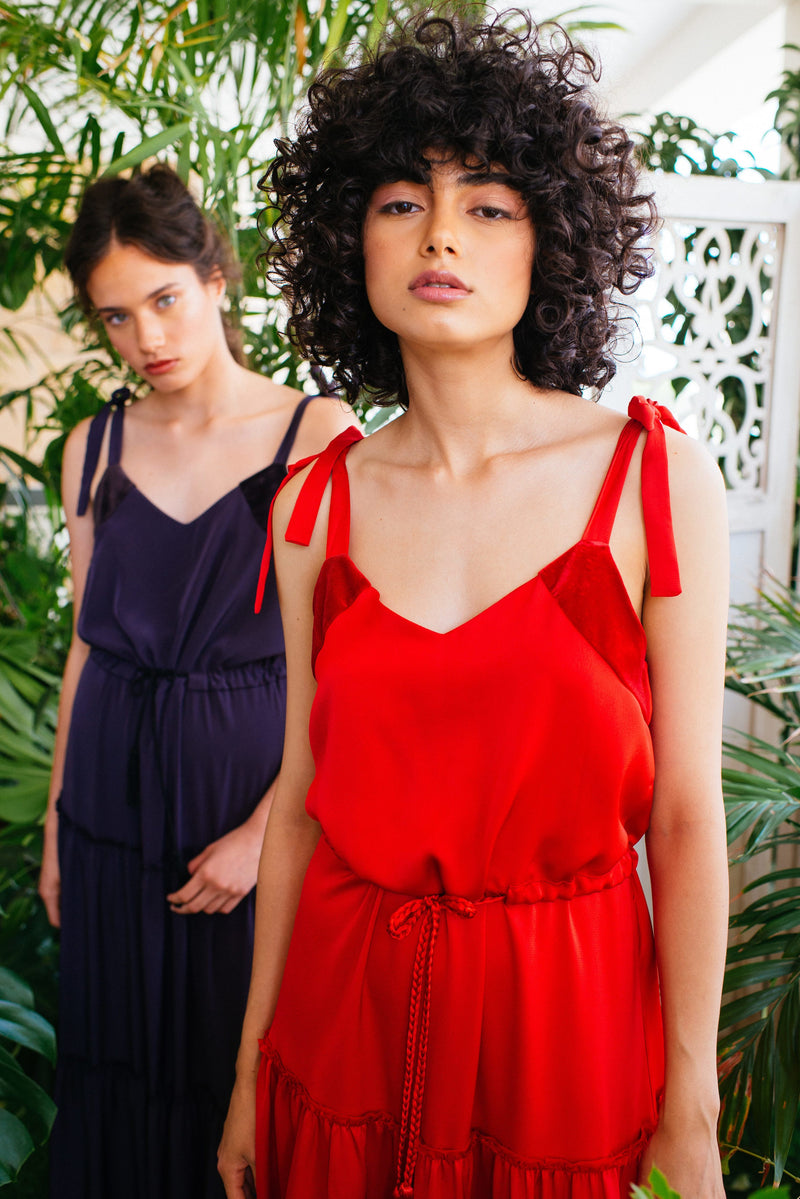 Toscana Dress In Red