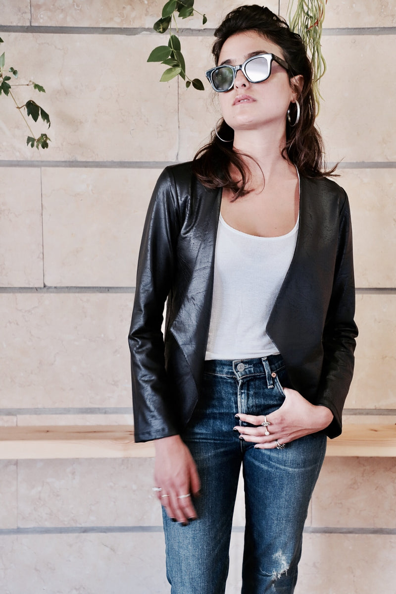 JACKSON Jacket in Faux Leather