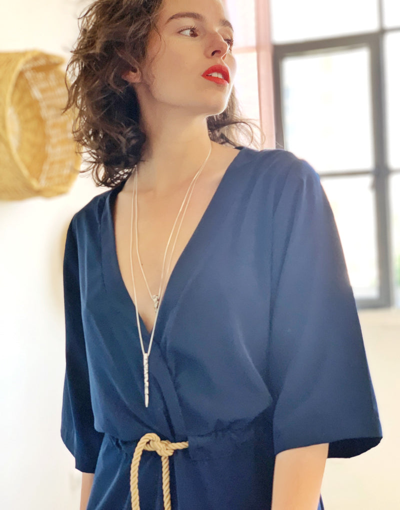 Maxi Kyoto in Blue