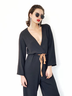 Manhattan Jumpsuit in Black