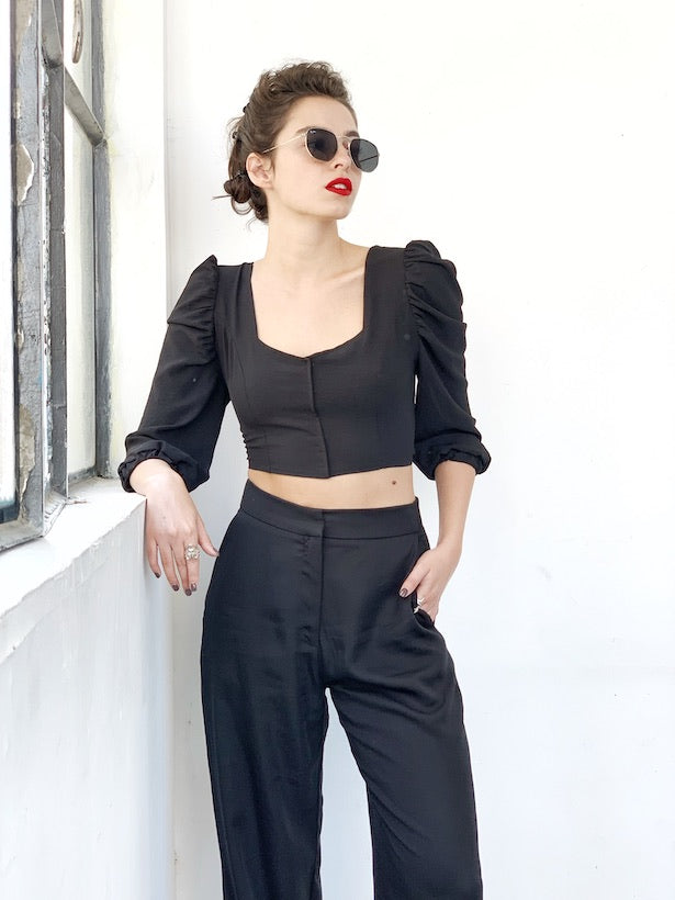 Carla Top in Black