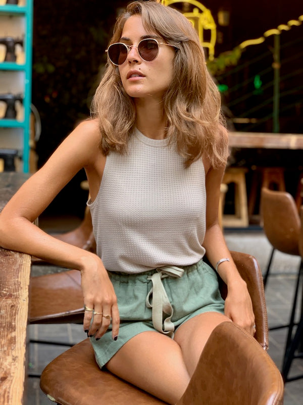 Lily Top in Sand
