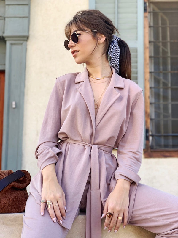 Jessa Jacket in Pink Moka