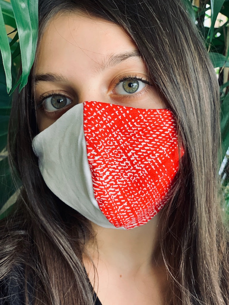 Mask - Printed Red