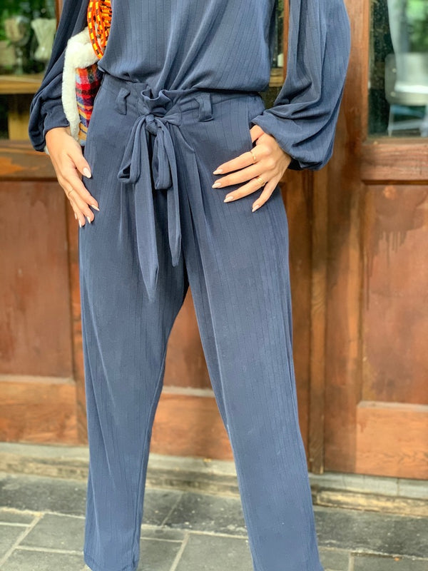 Isabelle Pants in Navy