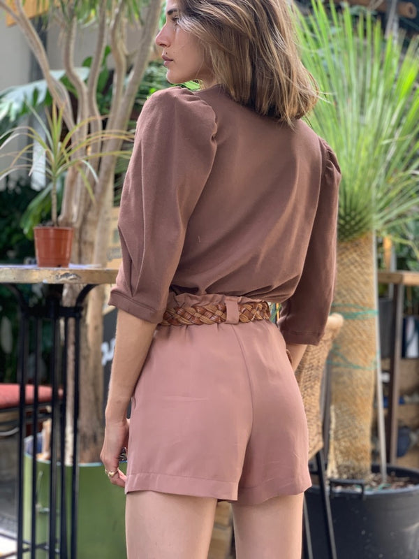 Johnsy Shorts in Camel