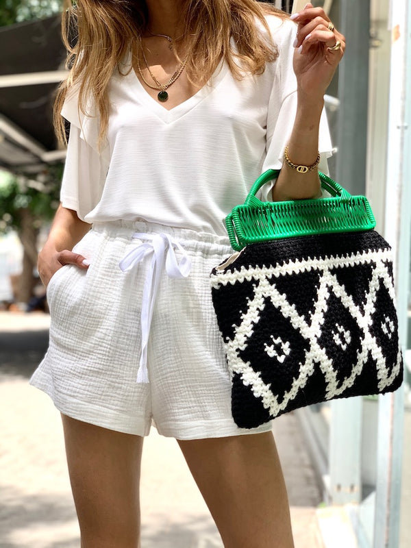 Sophia Shorts in White