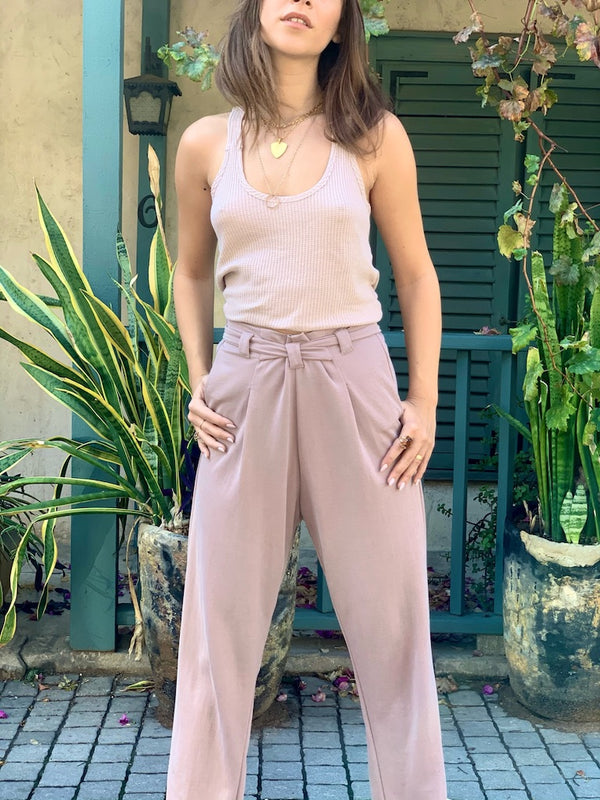 Jessa Pants in Pink Moka