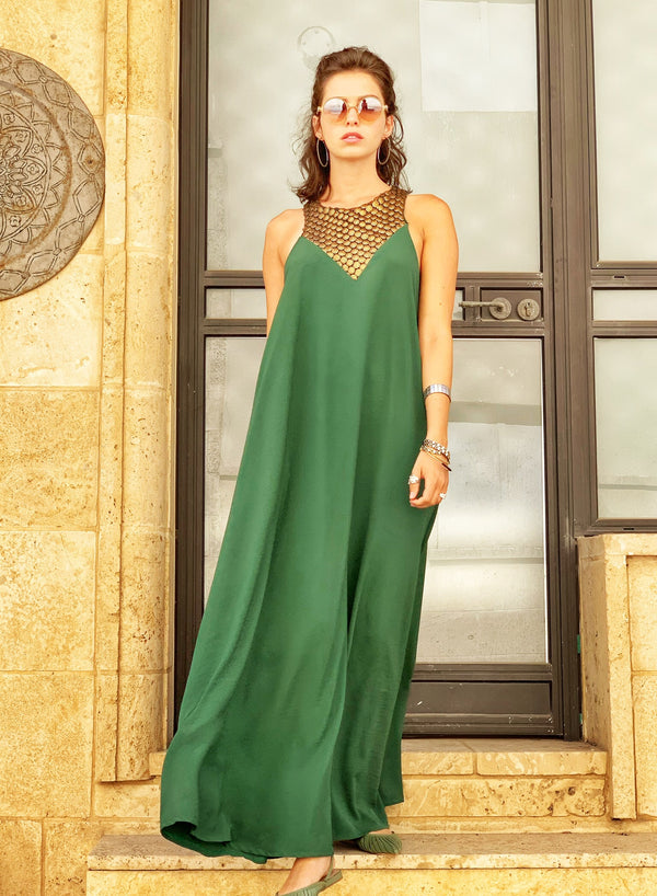 Maxi Monaco in Green & Gold