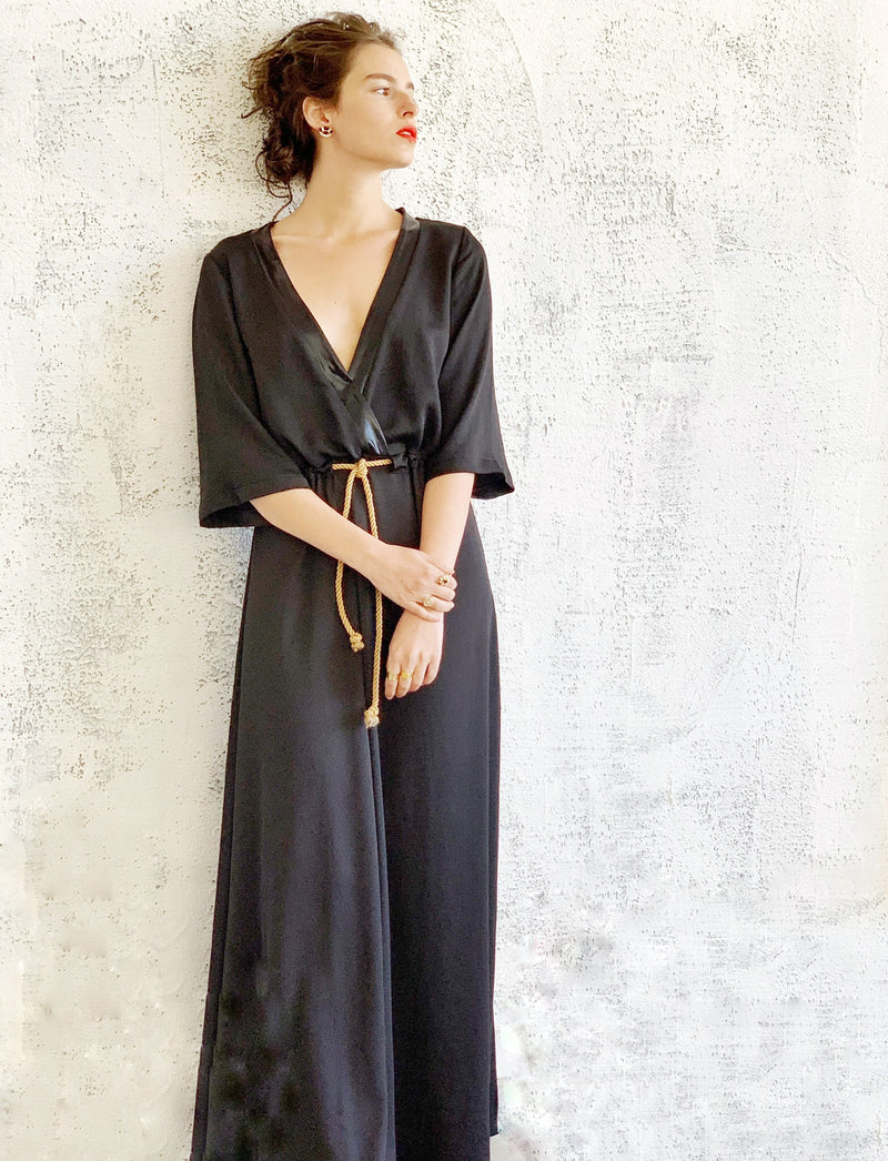 Maxi Kyoto in Shiny Black