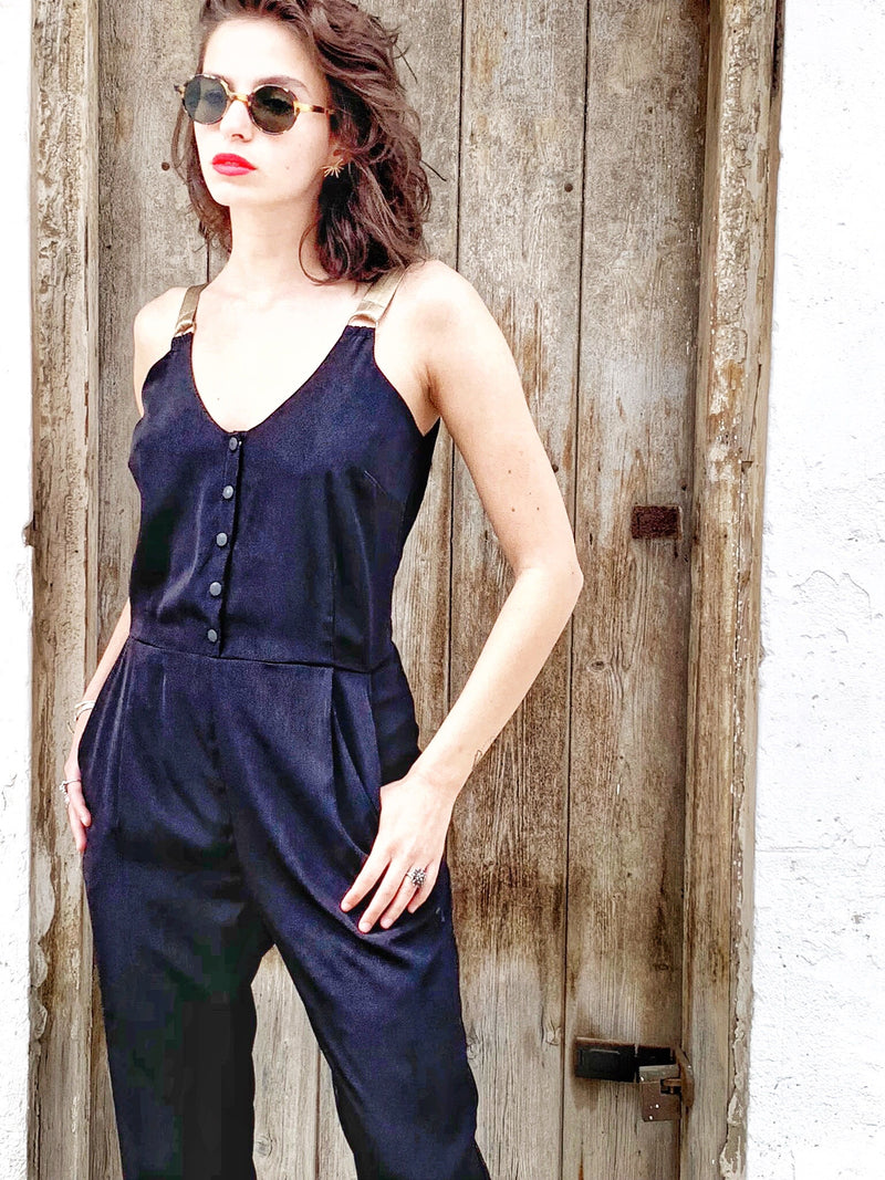 Palma Jumpsuit in Black