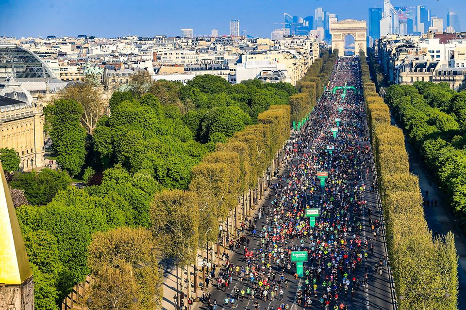 Marathon de Paris - 5 Avril 2020