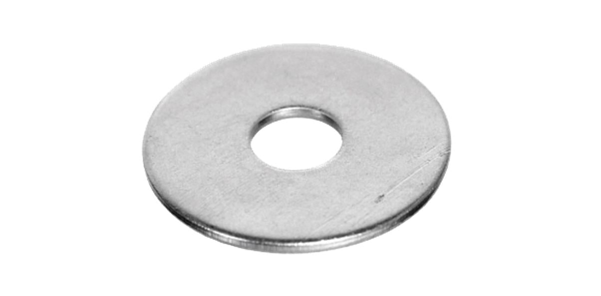 M12 x 38mm BZP Mudguard Repair Washers - 15 Qty - MSS Timber