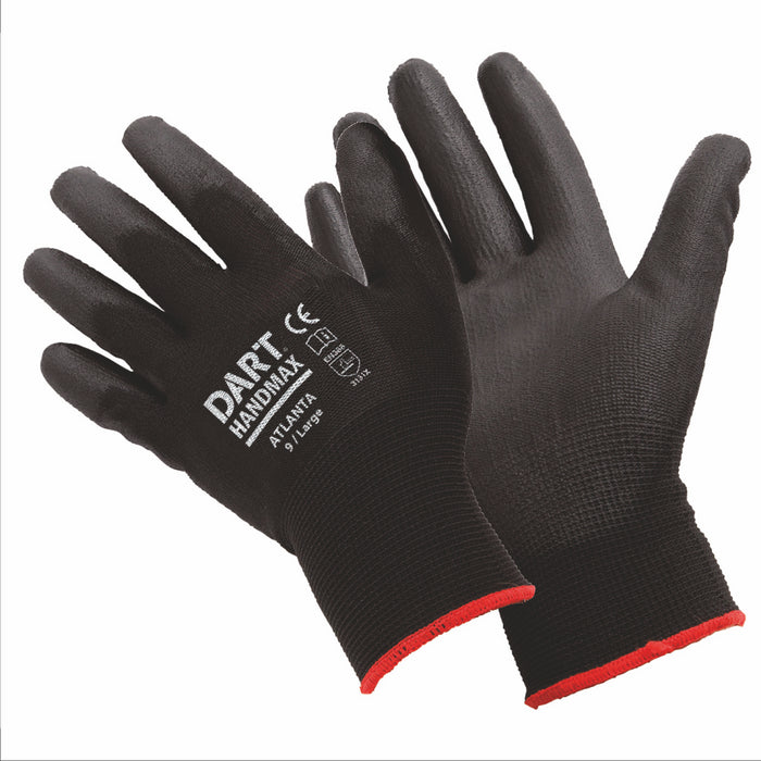 Handmax XL Black PU Glove - Size XL - MSS Timber