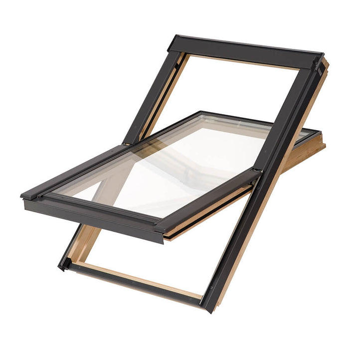 Nito Pine Skylight Windows with Slate Flashing - MSS Timber