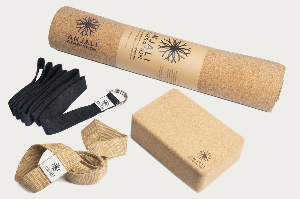 Anjali Cork Mat Essentials Package-Yoga Package-Anjali Generation