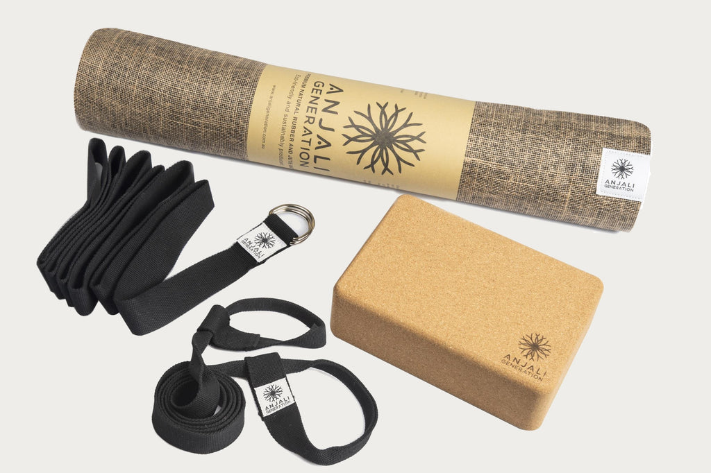 Anjali Jute Mat Essentials Package-Yoga Package-Anjali Generation