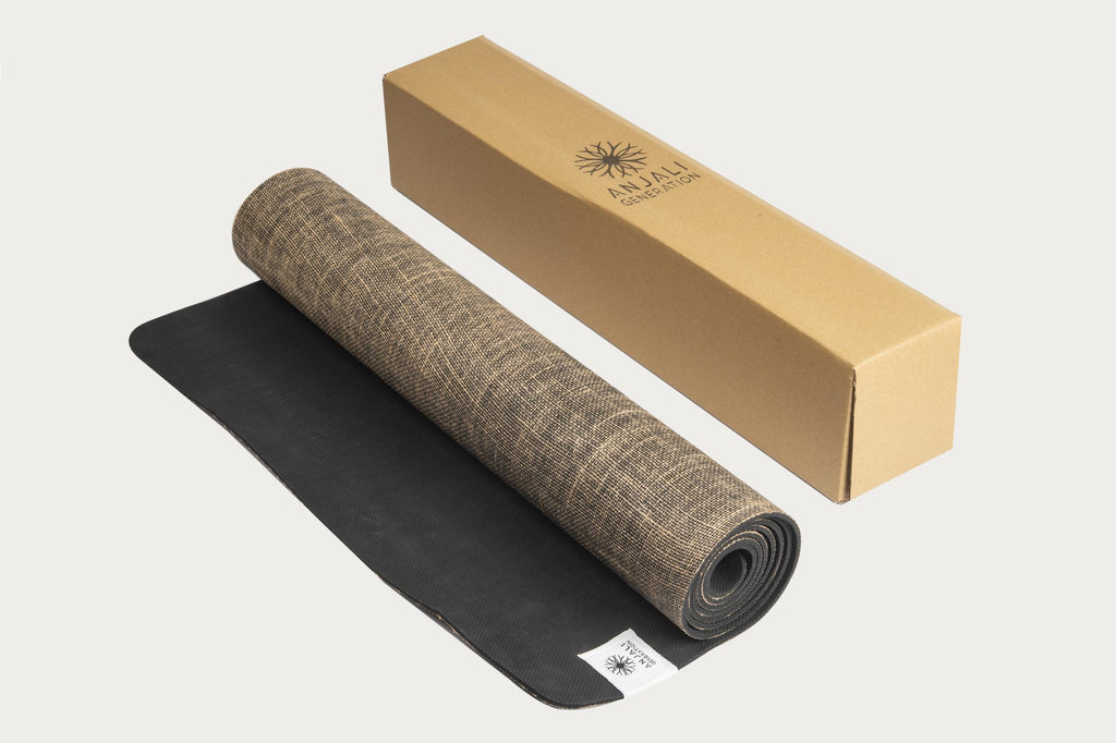 Anjali High Performance Jute Yoga Mat-Yoga Mat-Anjali Generation