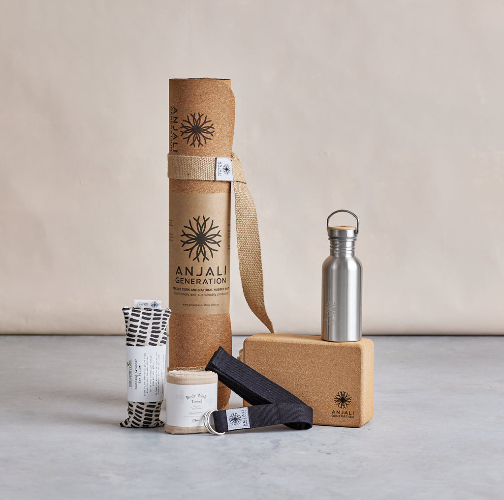 The Anjali Master Pack (Cork)-Yoga Accessories-Anjali Generation